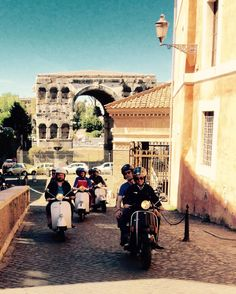 Velcro by Vespa.... discover the hidden corners of our city! Learn. Live. Love. Rome