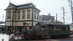 「坊っちゃん列車」matsuyama city,japan