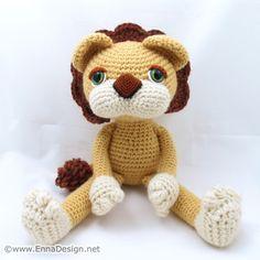 Amigurumi Lion Art Doll | Flickr - Fotosharing! Crochet Lion, Crochet Animals, Crochet Cats, Lion Illustration, Lion Art, Lions, Art Dolls, Crochet Projects, Free Pattern