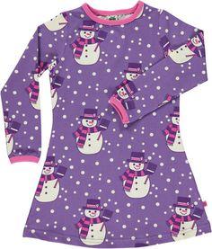 Smafolk Snowman Dress