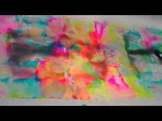 "Dyeing fabric w/Sharpies & alcohol. Filmed @ the Houston International Quilt Festival 2010. Inspired by another ""pin"" (http://pinterest.com/pin/112847350/) I looked for other takes on this method of ""tie dye,"" was glad to see that this isn't just for tee shirts!"