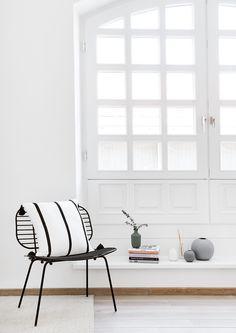 In Diesem Hellen Skandinavischen Zuhause Stimmt Jedes Detail. Der Geliebte  Sessel Chloe