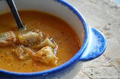 Een echte herfstsoep: Knolselderij-pompoen soep