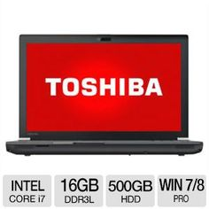 "Alternate view 1 for Toshiba Tecra 15.6"" Notebook - PT640U-013006"