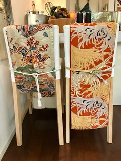 How to style your home with a Japanese touch using an Obi belt.