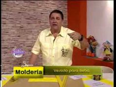 Hermenegildo Zampar - Bienvenidas TV - Explica un Vestido para Beba. - YouTube Growing Up Girl, Sewing Basics, Hermes, Youtube, Mens Tops, Baby Dresses, Sewing Lessons, Sewing Projects, Pockets
