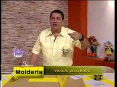 Explica un VESTIDO PARA BEBITA   Hermenegildo Zampar  - Bienvenidas TV - Explica un Vestido para Beba.