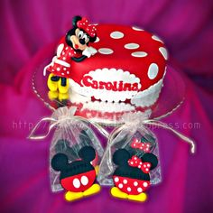 Bolo da Minie  #Minie #Mickey #Disney #Bolos