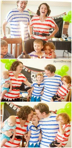 Pirate Birthday Party On a Budget {Jake & the Never Land Pirates} with lots of pirate party games!