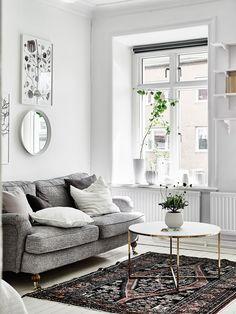 Binnenkijken in dit lichte Zweedse appartement 8