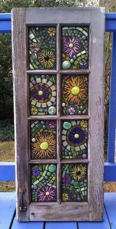Stained Glass Mosaic Windows see more at this site Mosaic Crafts, Mosaic Projects, Stained Glass Projects, Stained Glass Art, Stained Glass Windows, Mosaic Art, Mosaic Tiles, Mosaics, Fused Glass