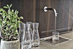 Rohrmooser Berquellwasser im ARX Hotel // Mountain spring water in the ARX Hotel Mountain Spring Water, Restaurant Bar, Best Music, Pipes