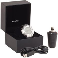 Suunto D6i Steel Diving Watch W/ Transmitter & USB - SS018399000 -