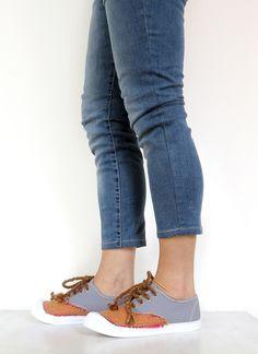 Sneakers - Custom Shoes - n° 4008 - un prodotto unico di ColoresDeSudamerica su DaWanda