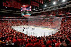 Best hockey atmosphere EVER #katesmith