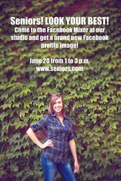 Facebook Profile Pic Party- SUPER idea!