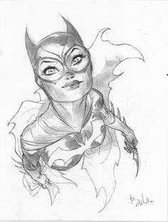 Batgirl by Ben Caldwell