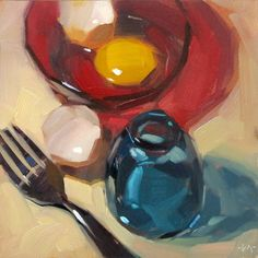DPW Fine Art Friendly Auctions - Primary Egg by Carol Marine