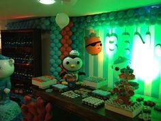 octonauts birthday party   Crazy Octonauts Party set-up