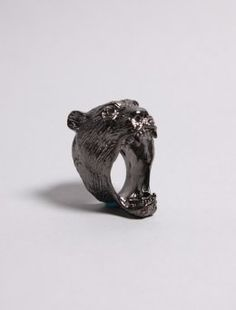 Old Gold Boutique Roar Black Ring - $48.00