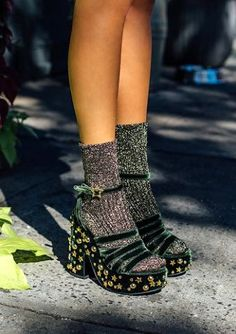 Your E-Organization - Employ An Accountant Or Do It Yourself Velvet Platform Sandals From Mr By Man Repeller Ps Dept. Stilettos, Pumps, High Heels, Socks And Sandals, Chunky Sandals, Heels With Socks, Chunky Heels, Black Platform Sandals, Platform Shoes