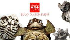 Indonesian Art Toys Bulky Custom Event