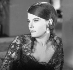 Delphine Seyrig - French stage and film actress, film director