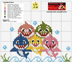 Beaded Cross Stitch, Cross Stitch Baby, Cross Stitch Charts, Cross Stitch Designs, Cross Stitch Embroidery, Cross Stitch Patterns, Beading Patterns, Embroidery Patterns, Hama Beads Design