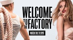 Jean Paul Gaultier: Welcome to the Factory #Commercial #Song #VincenzoBellini #JeanPaulGaultier #ChrisBunn #DaphneGroeneveld #Perfume
