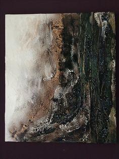 Mixed Media Powertex on canvas 60x70 cm