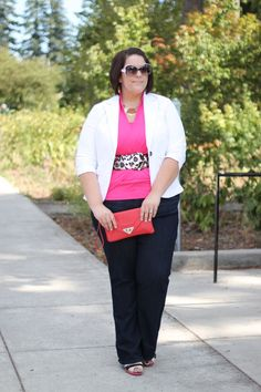 Life & Style of Jessica Kane { a body acceptance and plus size fashion blog }  I like the belt!