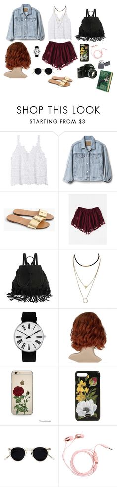 """""""BASIC #3"""" by mexicanwoman on Polyvore featuring moda, Gap, J.Crew, Rosendahl, Dolce&Gabbana, Oliver Peoples, Nikon y Zippo"""