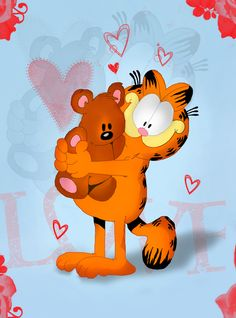 Garfield... Pooky...You're My Hero!... ❤