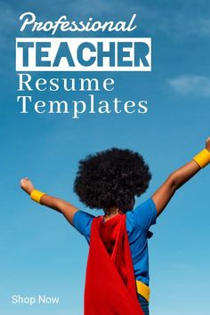 Our professionally designed templates are easily customizable, you can update the colors, fonts, headings and layout to create a piece that's uniquely your own. No advanced design skills are necessary. Microsoft Word Resume Template, Teacher Resume Template, Modern Resume Template, Creative Resume Templates, Resume Tips, Resume Examples, Resume Words, Cover Letter For Resume, Career Development