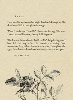 Motivational & mindful quote by author Lang Leav Pretty Words, Beautiful Words, Beautiful Poetry, Poem Quotes, Life Quotes, Qoutes, Movie Quotes, Lang Leav Poems, Lettering