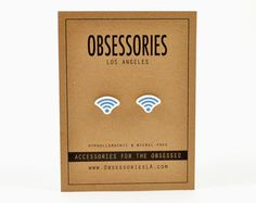 Wifi Wi-Fi Symbol Icon Sign Wireless Internet by ObsessoriesLA