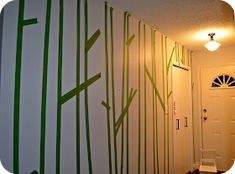 creating domestic bliss: I want a forest in my hallway