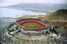 Candlestick Park -- I've been here MANY times.