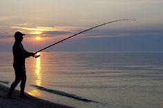 Deep sea fishing in the Atlantic Ocean