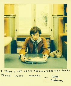 Wes Anderson on philosophers