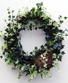 Easter Wreath. Easter or Spring. This is just gorgeous!