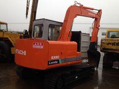 HITACHI EX60 small excavator, 0.3m³ Japan Hitachi mini digger Small Excavator, Excavator For Sale, Digger, Japan, Japanese