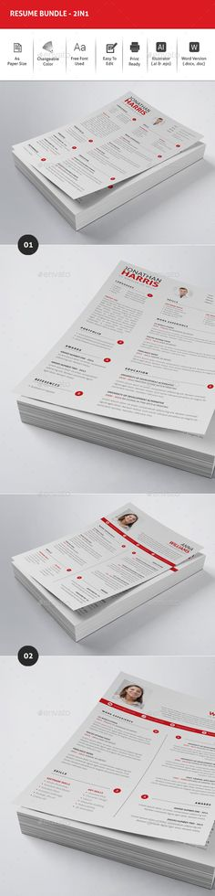 2 Resume Templates Vector EPS, AI Illustrator Download here http - illustrator resume