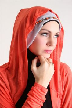 There are many different types of Hijab having embroidery, beads work, real gem stones, pearls and crystal work