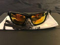 a10a81e394 Rare Oakley Scalpel MotoGp edition polish blk w fire irid BRAND NEW   fashion