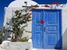 Blue door, Greece #1