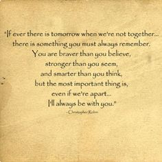Always be with you :)