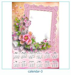 calendar photo frame 3