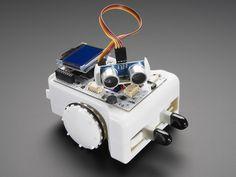 Sparki – The Easy Robot for Everyone Advanced Robotics, Learn Robotics, Robot Wheels, Robot Platform, Build A Robot, Educational Robots, Package Delivery, Robot Design, Do It Yourself Crafts