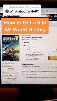 High School Hacks, High School Life, Life Hacks For School, School Study Tips, College Hacks, School Tips, School Stuff, Ap World History Notes, Ap Us History